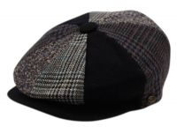 MULTI PATCH WORK NEWSBOY CAP NSB1911