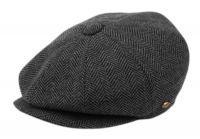 BRUSHED HERRINGBONE WOOL BLEND NEWSBOY CAP NSB2317