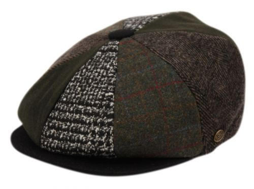 MULTI PATCH WORK NEWSBOY CAP NSB2323