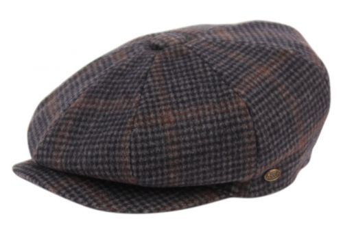 TWEED PLAID WOOL BLEND NEWSBOY HATS NSB2745
