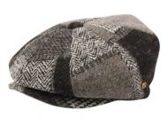 WOOL BLEND PATCH WORK NEWSBOY CAP NSB2760