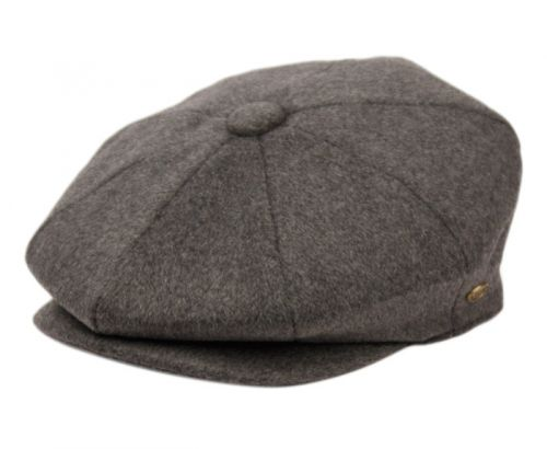 BRUSHED SOLID COLOR WOOL BLEND NEWSBOY CAP NSB3049