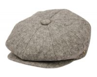 WOOL BLEND TWEED NEWSBOY CAP NSB3052