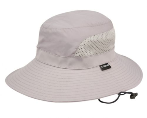 PONYTAIL OUTDOOR BUCKET HATS W/PARTIAL MESH & CHIN CORD OD4018