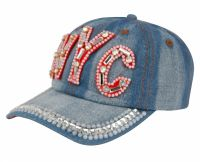 Fashion Crystal Cap RH101