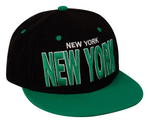 SNAPBACK CAPS WITH CITY NEW YORK EMB SB1811