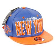 FAUX LEATHER CAPS WITH NEW YORK SB2082