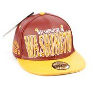 FAUX LEATHER CAPS WITH WASHINGTON SB2087