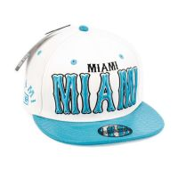 FAUX LEATHER CAPS WITH MIAMI SB2088