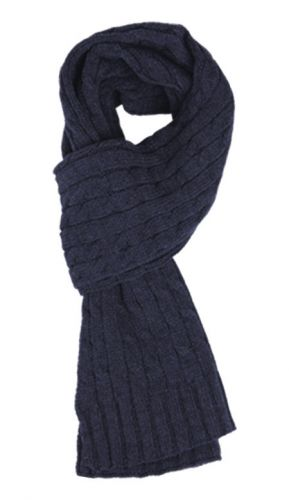 MEN'S CHUNKY KNITTED SCARF SC1961