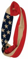 KNITTED INFINITY USA FLAG SCARF SC2037