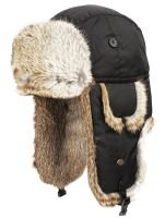 SUPER SOFT GENUINE RABBIT FUR BUMBER TRAPPER WINTER HATS TP2325