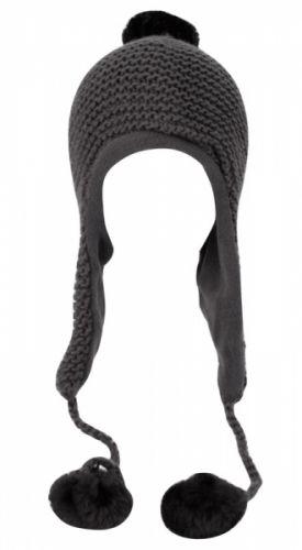 WINTER KNIT TROOPER HATS W/POM POM & CHIN COD TPN1250