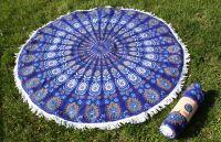PAISLEY MANDALA SUMMER ROUND BEACH TOWEL TW07