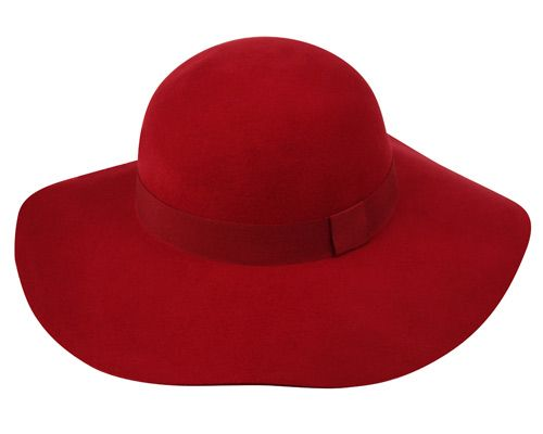 LADIES WOOL FELT HATS WITH GROSGRAIN BAND WFL2164