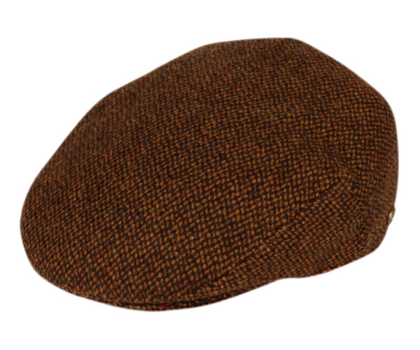 97c0a967 TWEED WOOL IVY CAPS W/SATIN QUILTED LINING IV2359